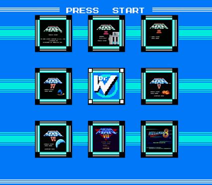 Mega Man level select
