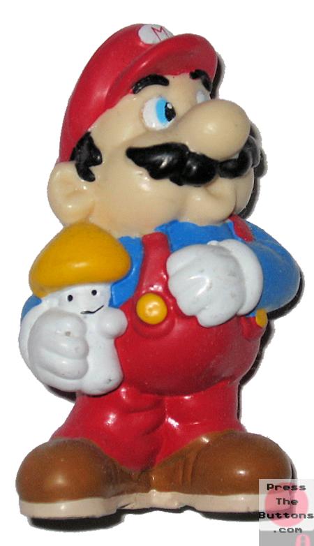 Mario with a mushroom