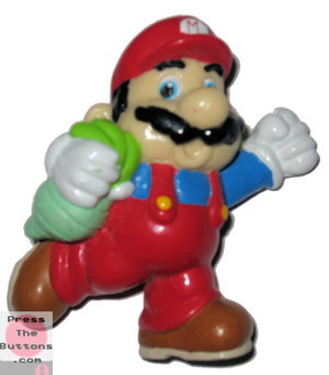 Mario with a turnip (A)