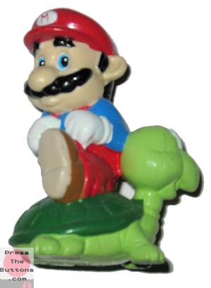 Mario atop a Koopa Troopa