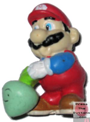 Mario with a turnip (B)