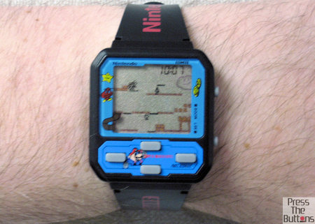 Super Mario Bros. game watch