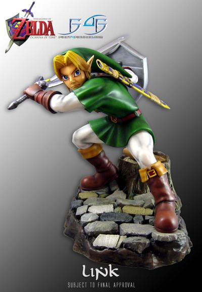 Adult Link figurine